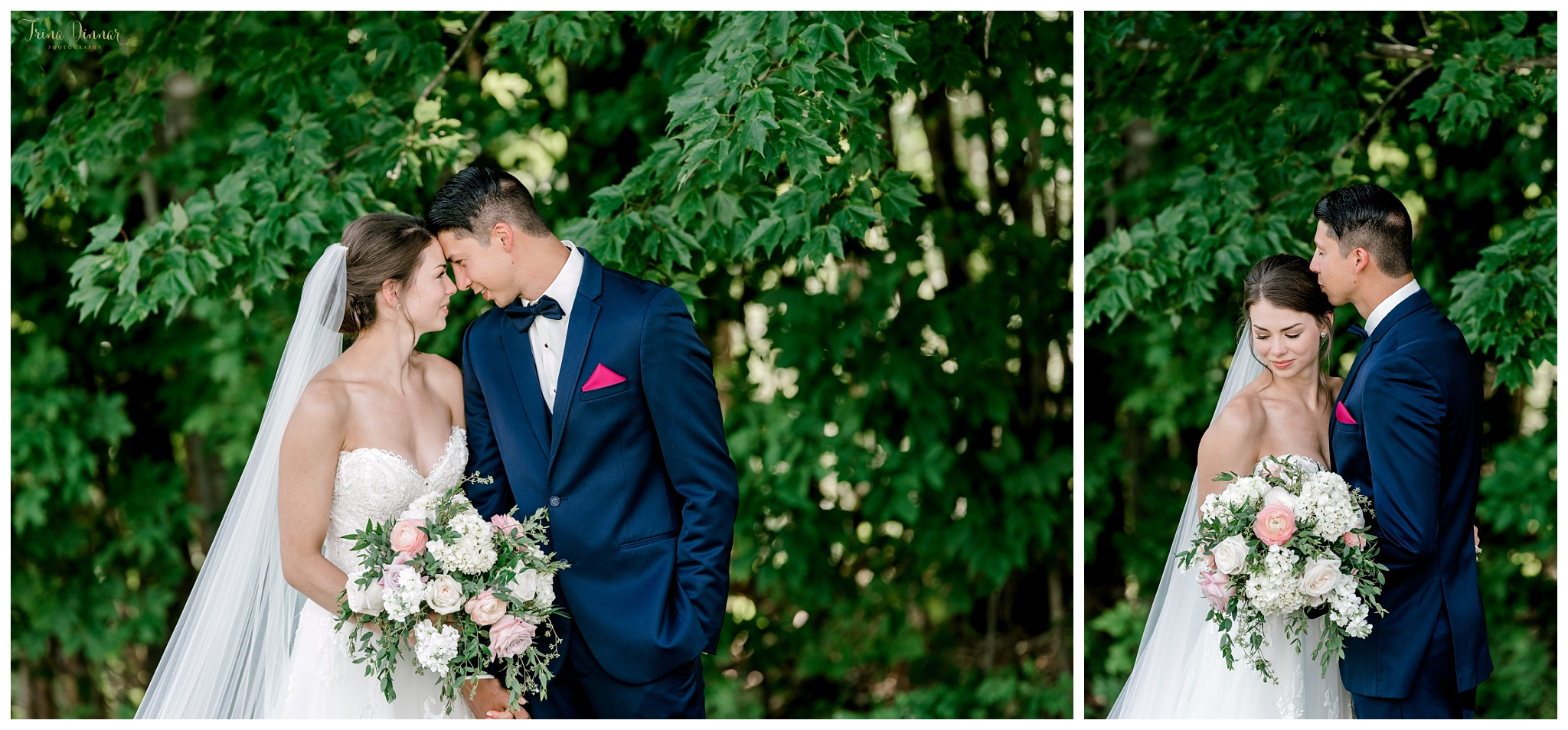 Maine Wedding Portraits at the Lucerne Inn