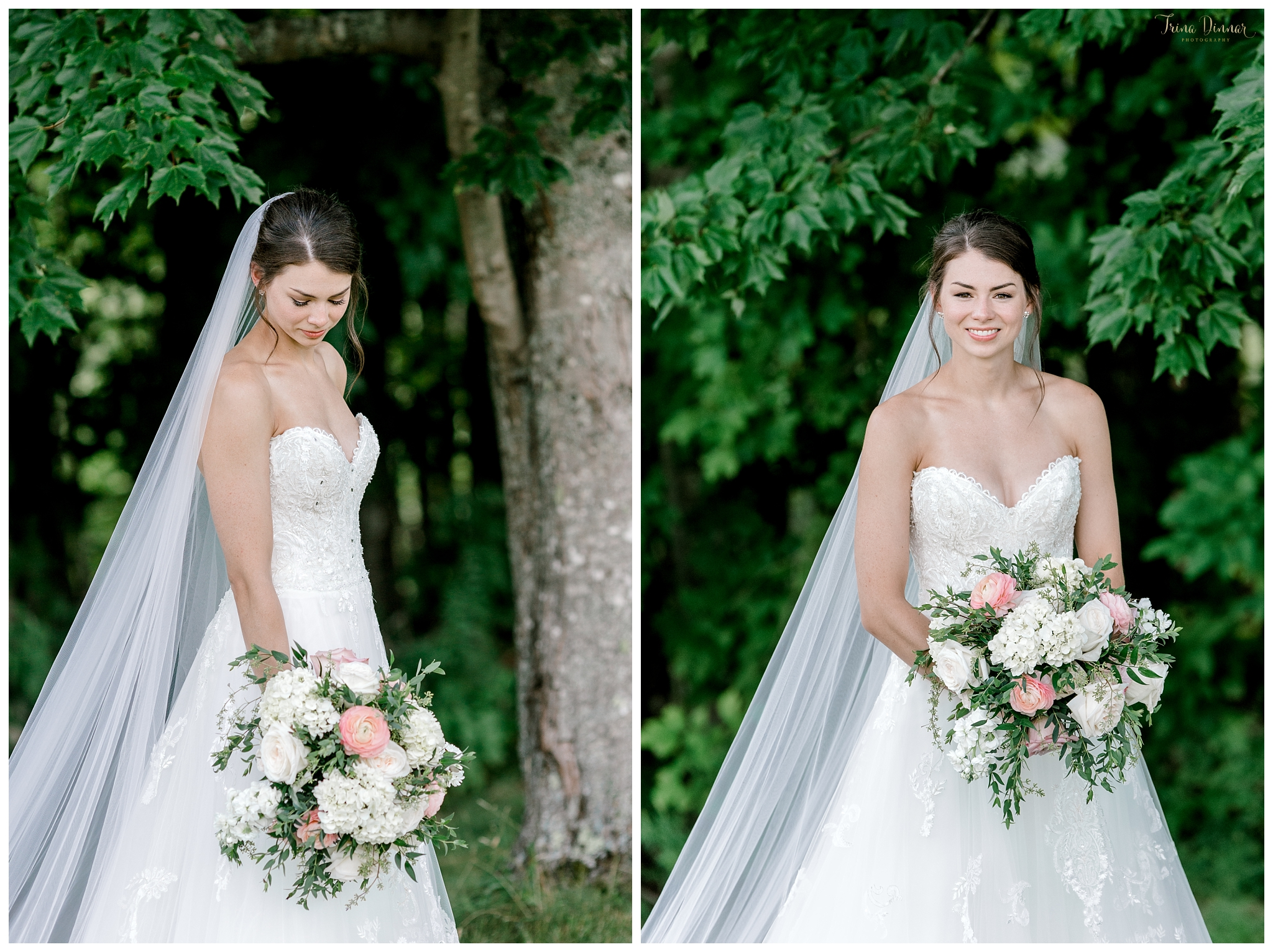 Dedham, ME Wedding Bridal Portraits