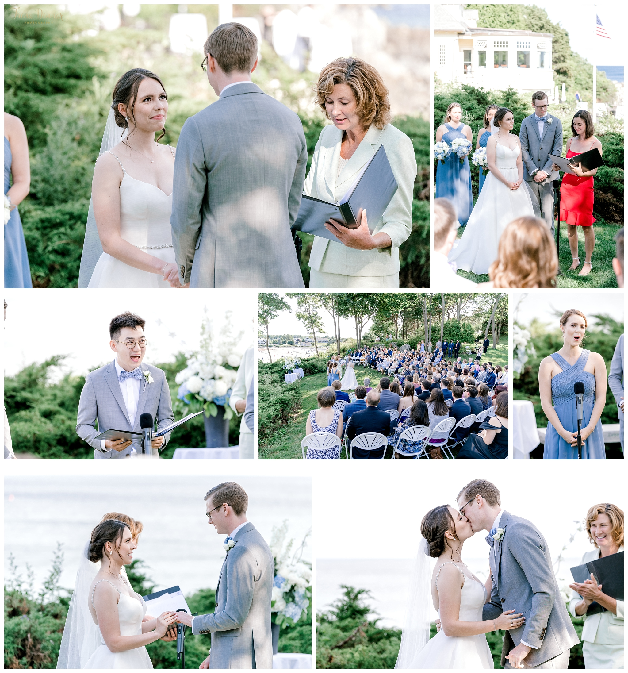 York Maine Wedding Ceremony at Hartley Mason Reserve Park
