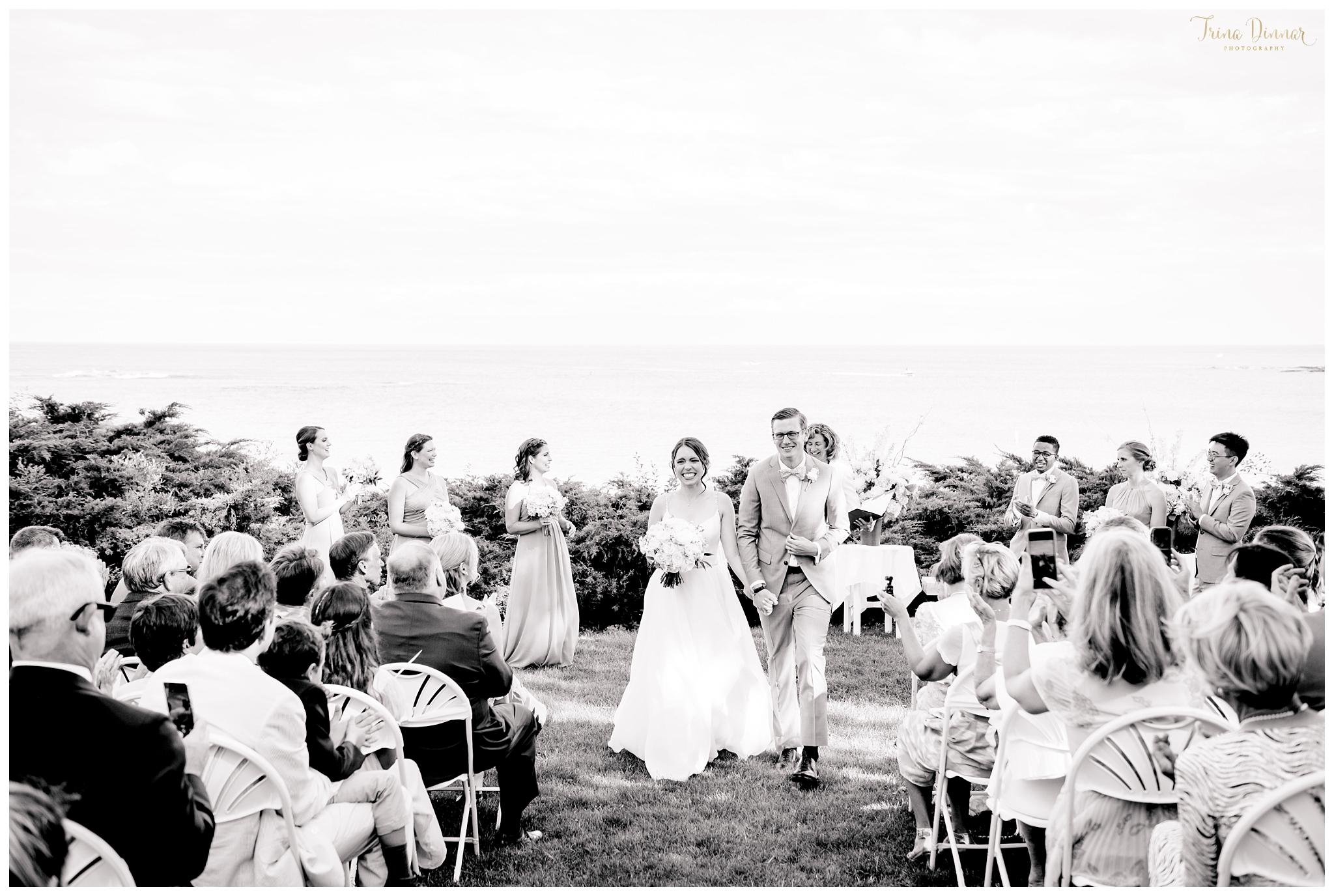 Hartley Mason Reserve York Maine Wedding Ceremony