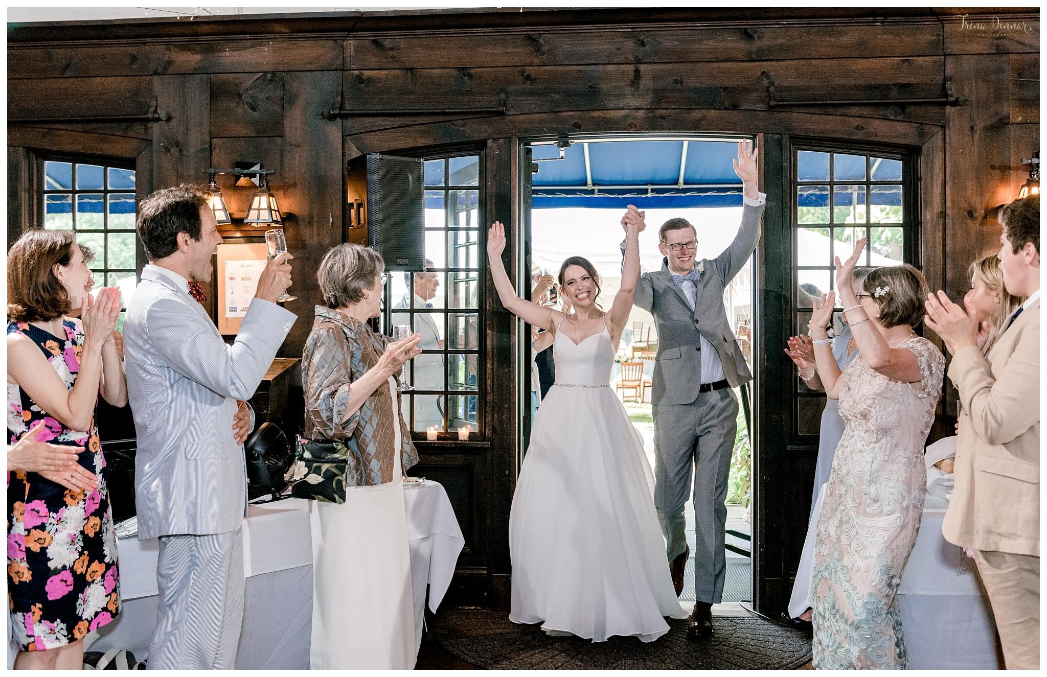 Announced into Wedding Reception