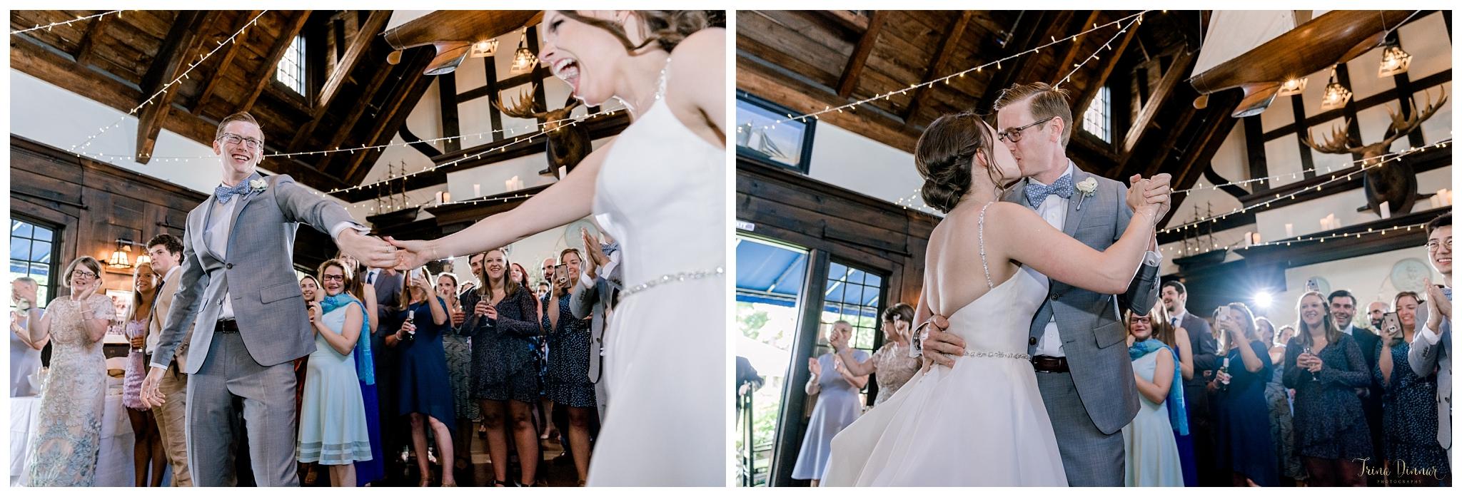 Megan and Hugh's Wedding Reception Grand Entrance