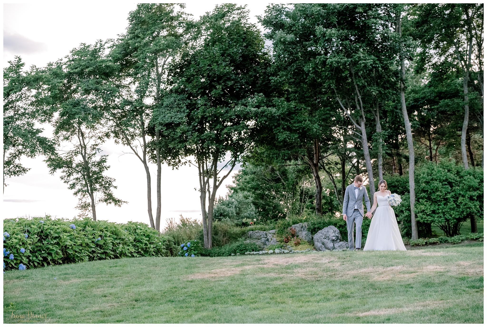 York Maine Wedding at Hartley Mason Reserve
