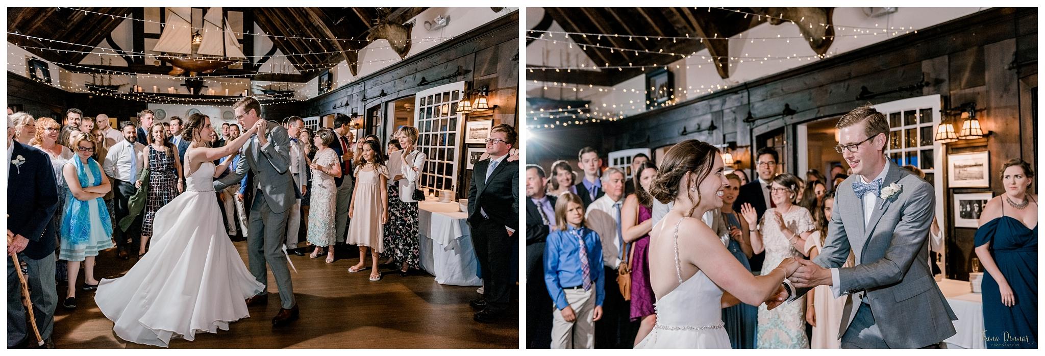 York Harbor Reading Room York Maine Wedding