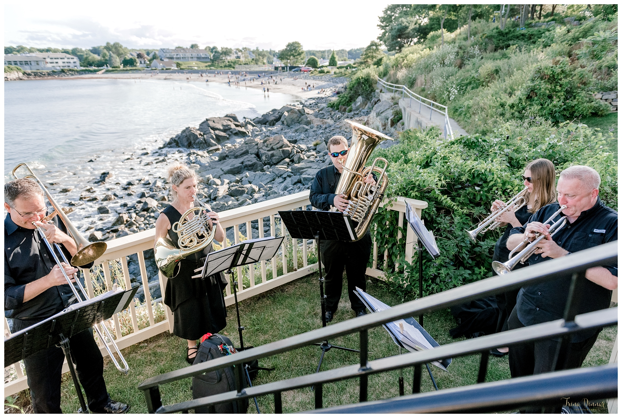 Occasional Brass and Strings Boston Based Wedding Band traveling to Maine