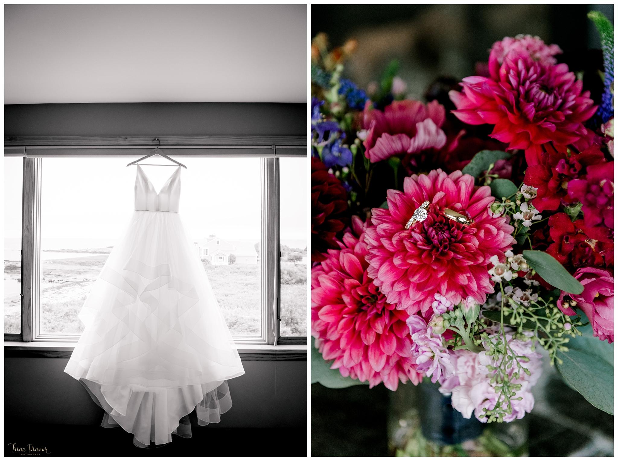 Stunning Maine Wedding Day Detail Photography