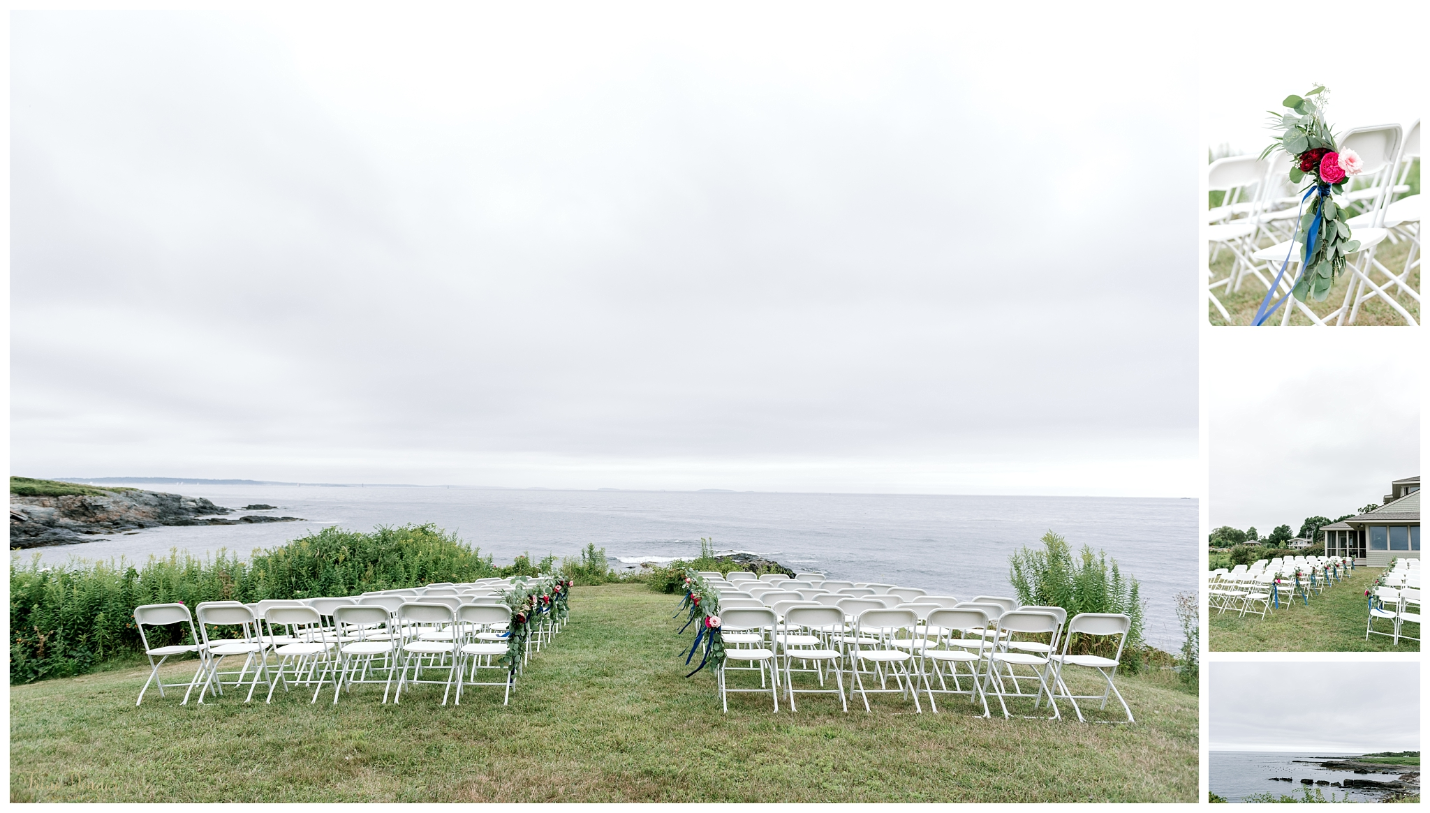 Oceanside Wedding Ceremony Locations Southern Maine