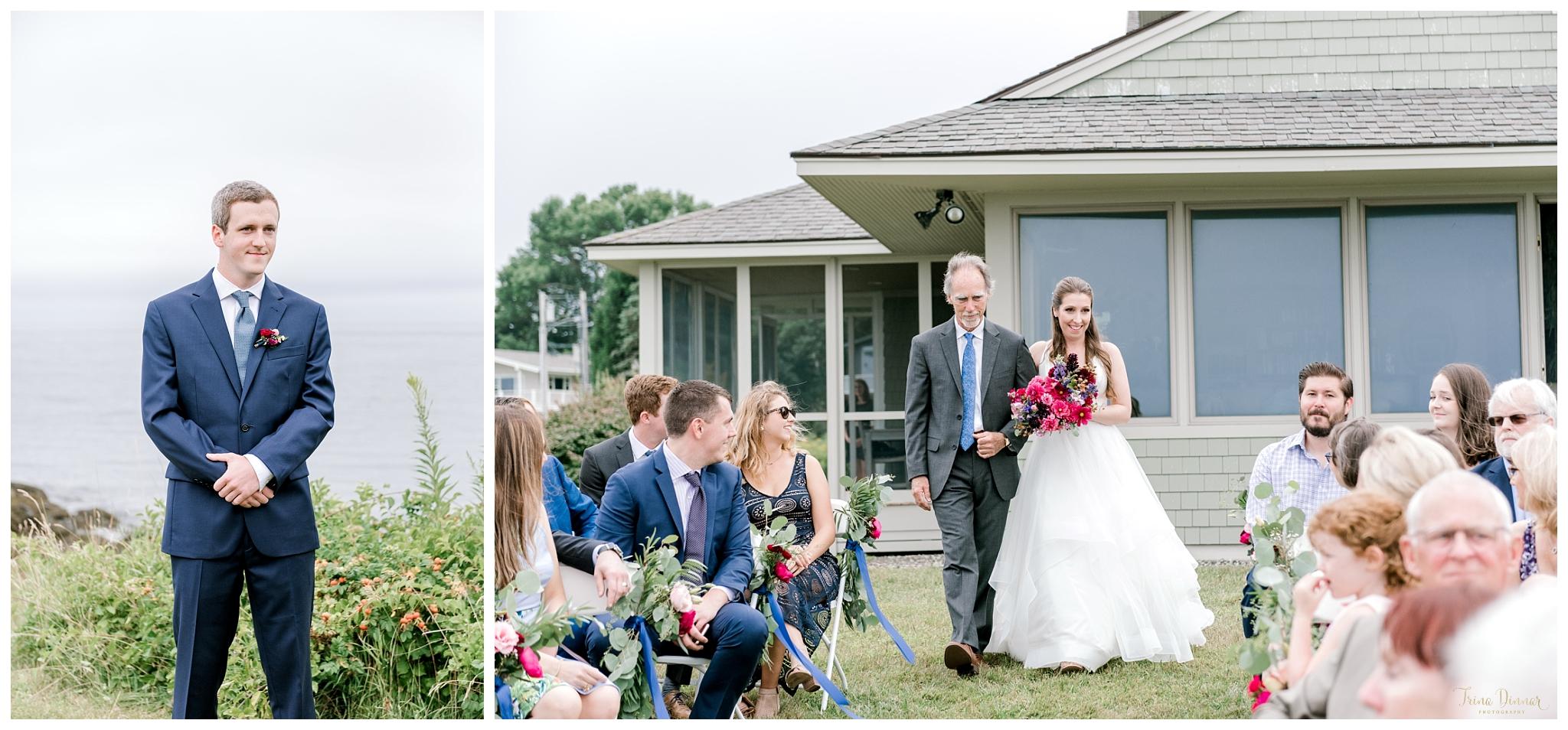 Michael sees Hannah on Wedding Day