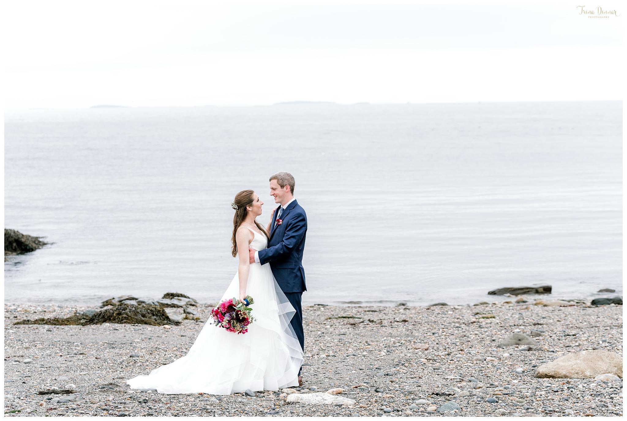 Maine Wedding by Trina Dinnar Photography