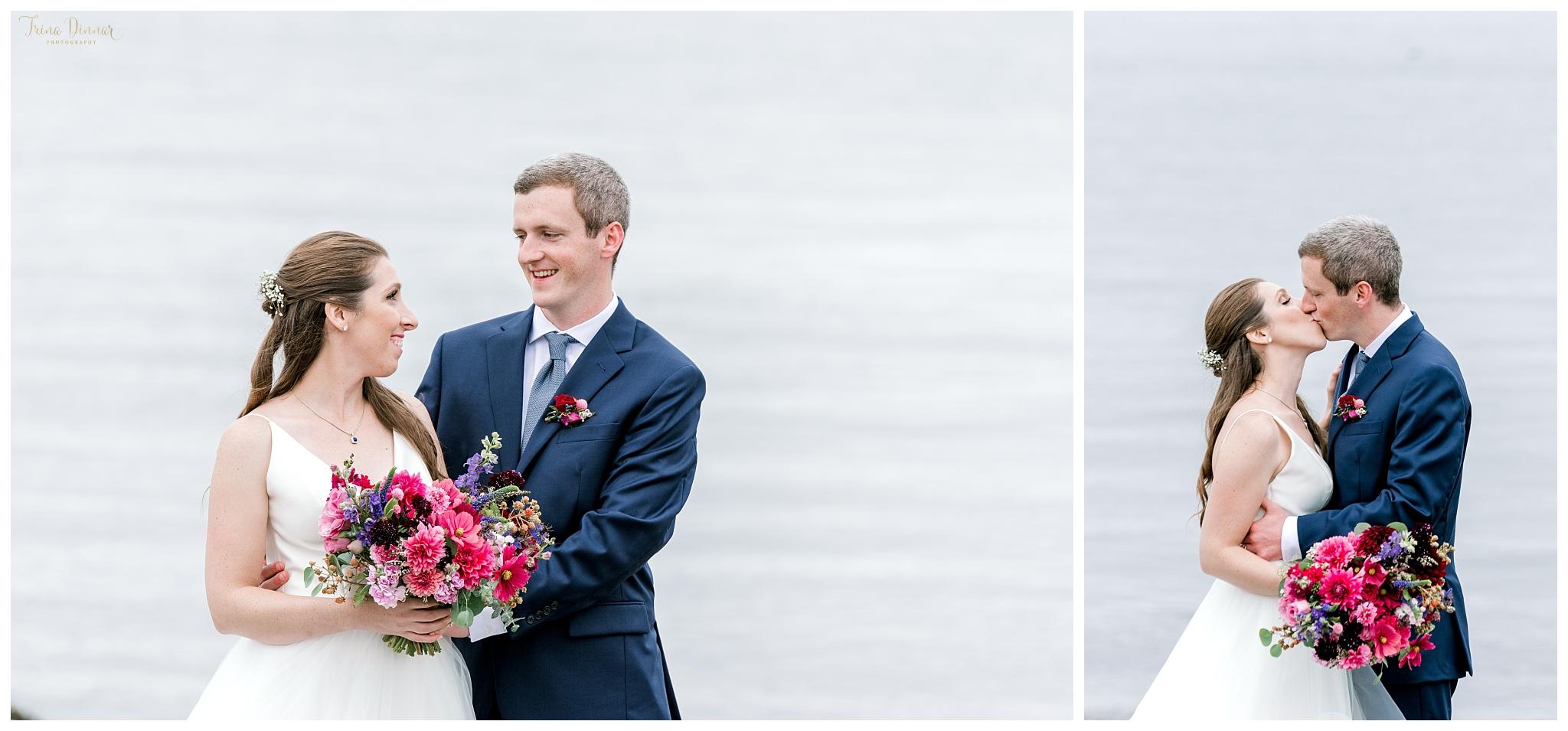 Wedding Photographer Captures Coastal Maine Portraits
