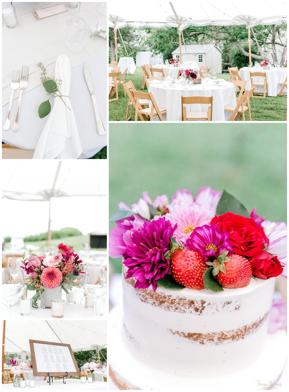 Southern Maine Floral Garden Wedding Decor