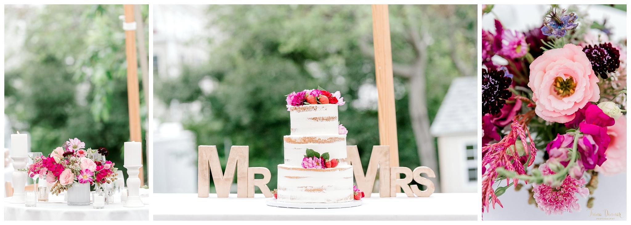 Maine Floral Wedding Decor