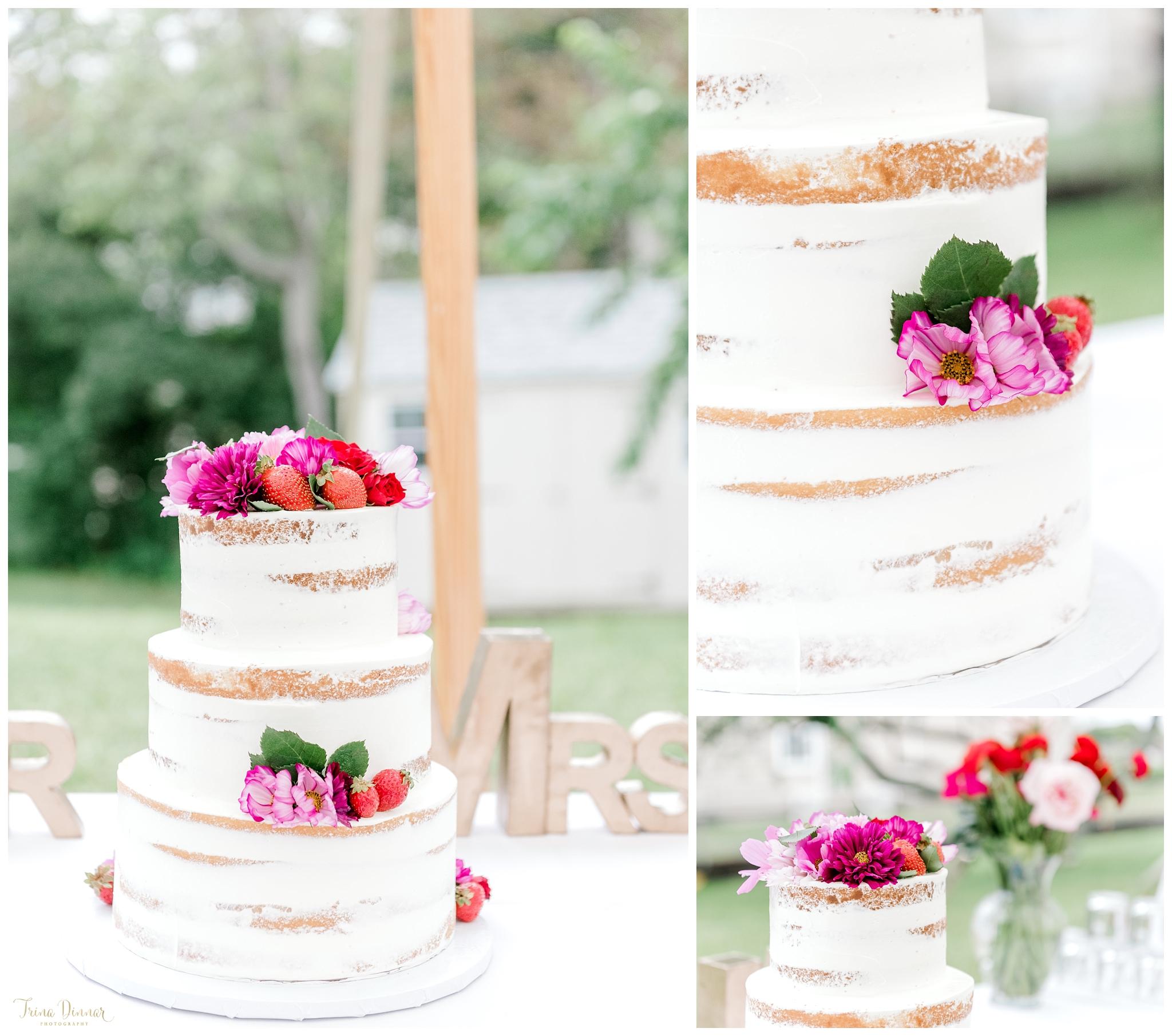 Scratch Baking Co Maine Wedding Cake