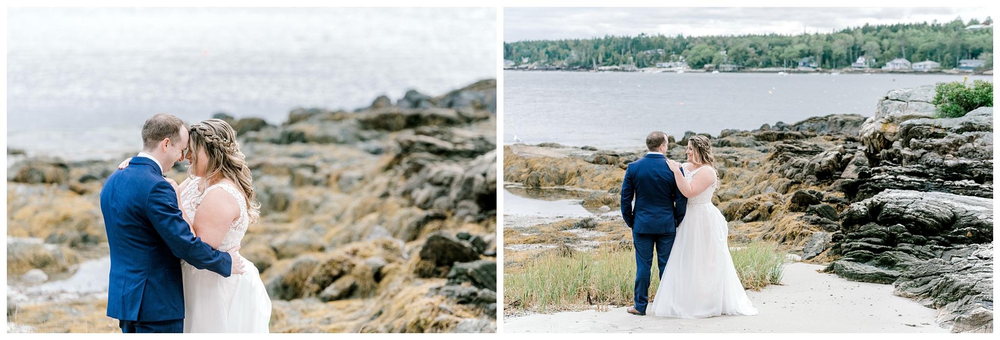 Capitol Island Southport Maine Wedding Photos