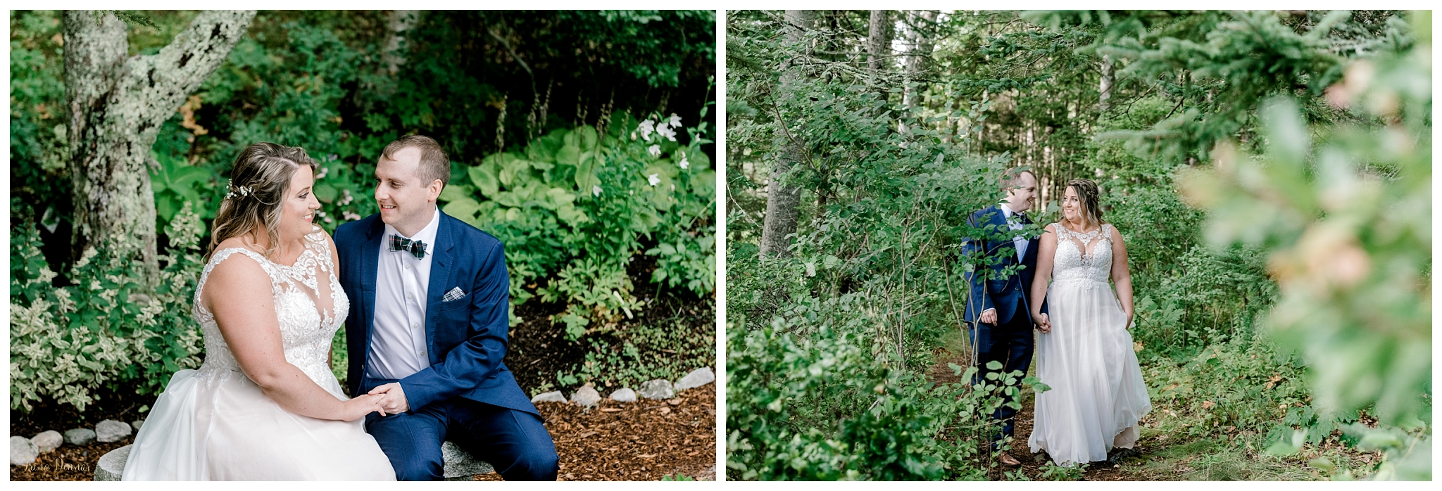 Jess and Dan's Capitol Island Wedding Portraits
