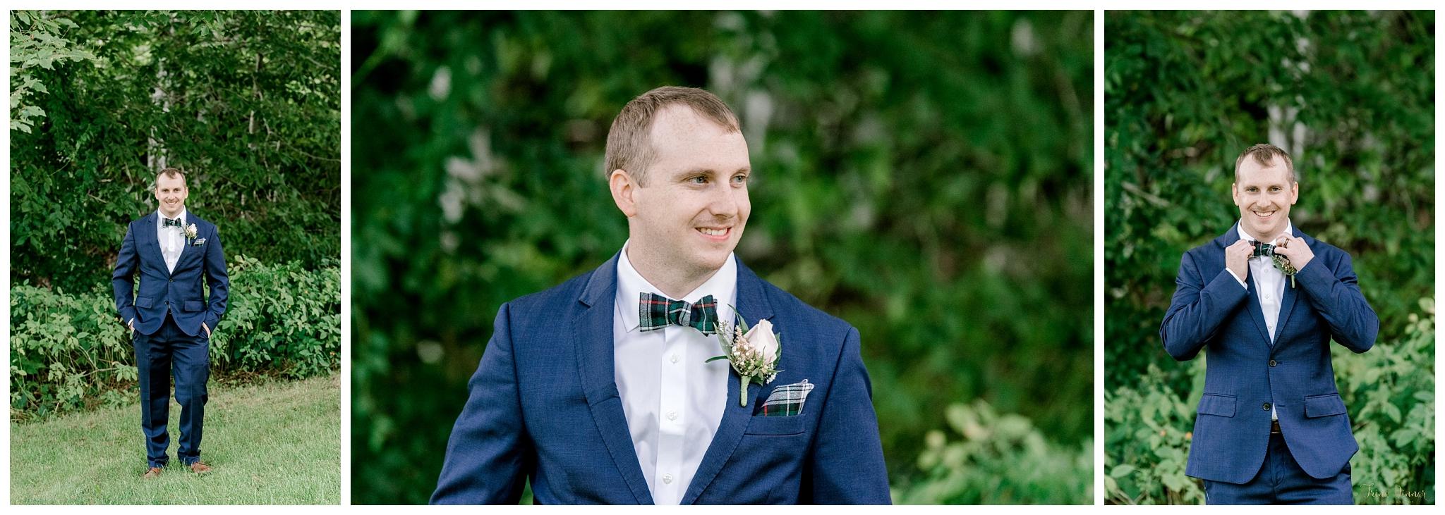 Dan's Groom Wedding Day Portraits