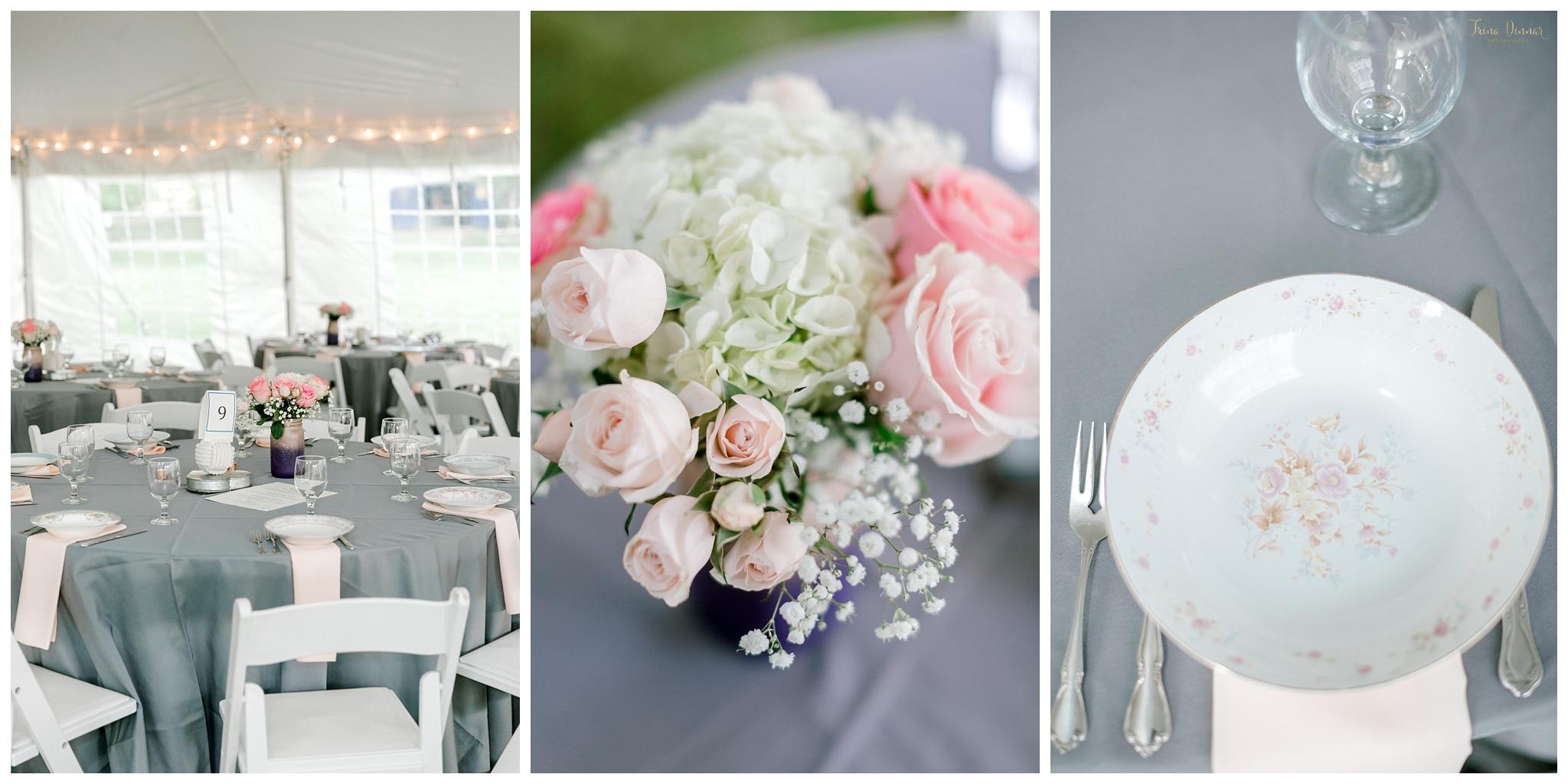 Boothbay Railway Village Wedding Reception Details