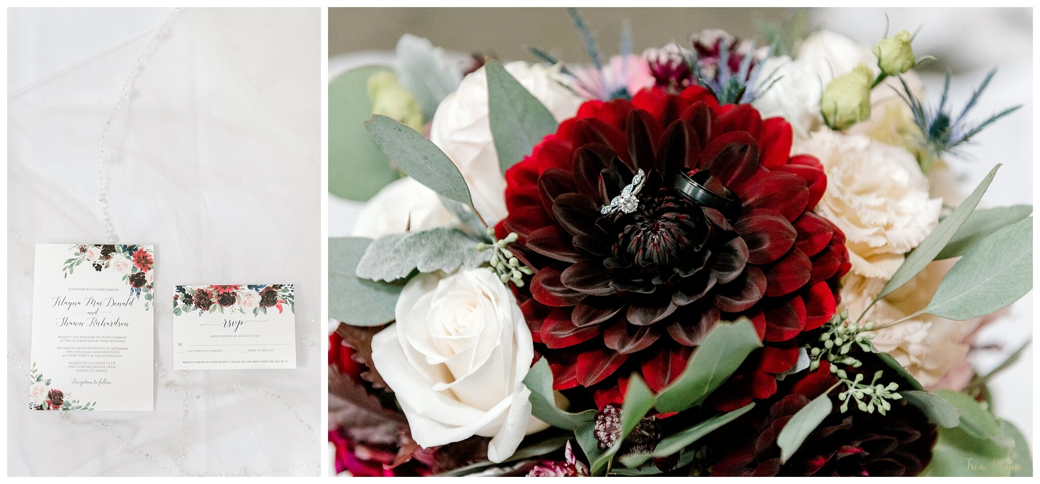 Campbell's Floral Design Maine Wedding Florist Flowers - Katey Campbell