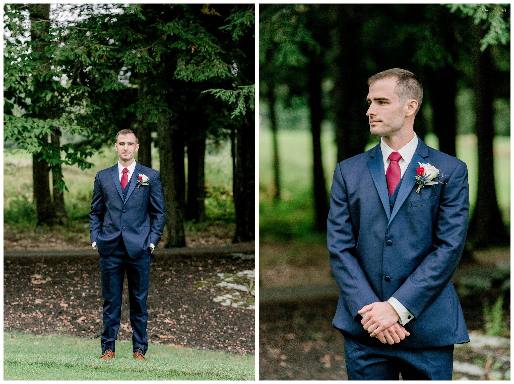 Shawn's Wedding Day Groom Portraits