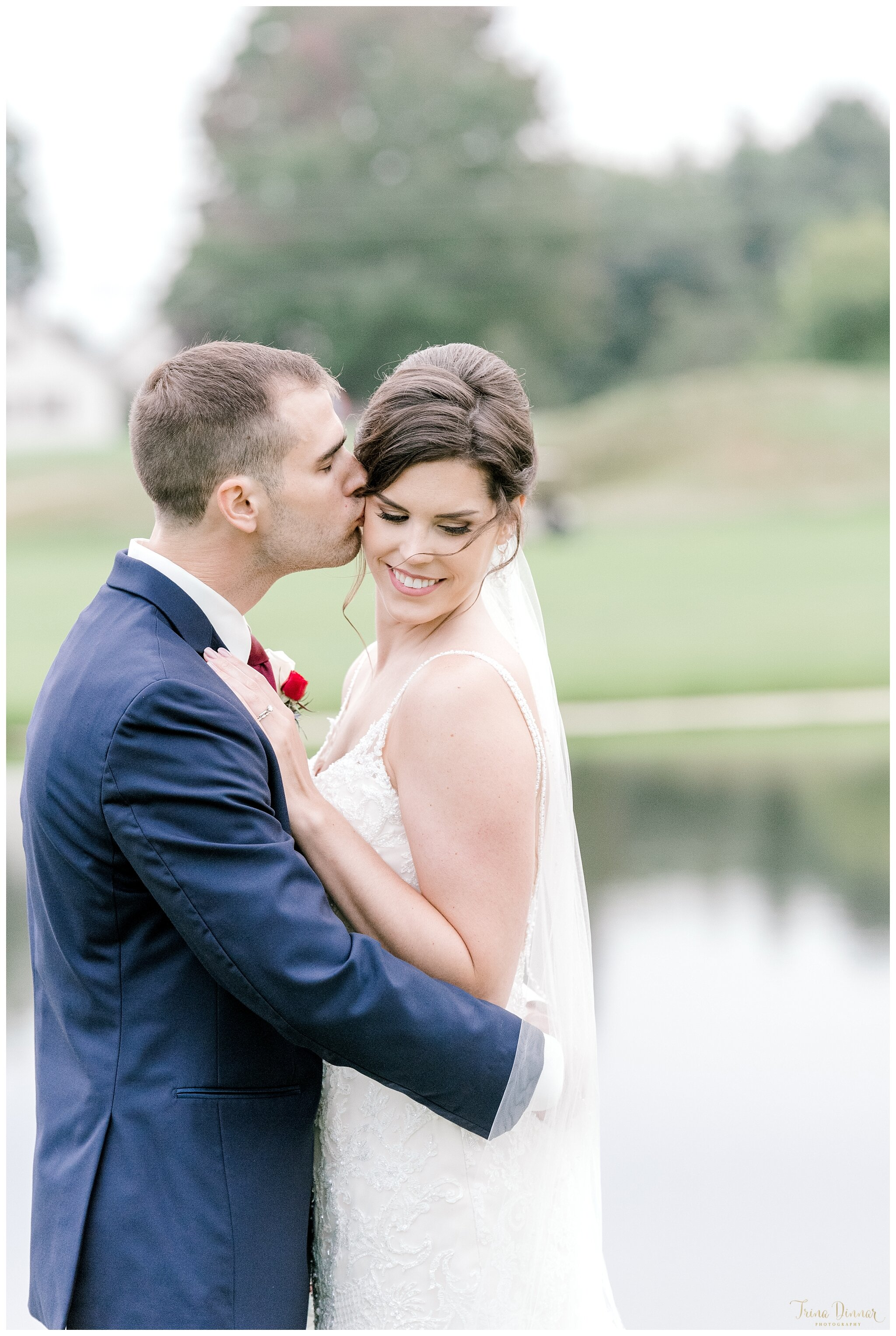 Alayna and Shawn Bride and Groom Portrait