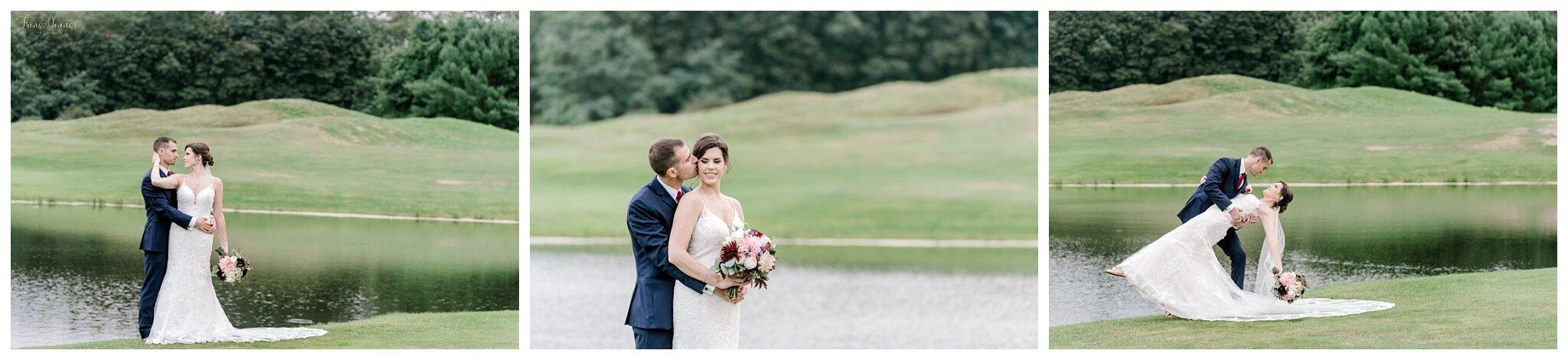 Maine Golf Course Club Wedding Photos