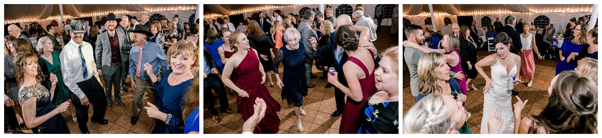 Reception Dancing during Wedding