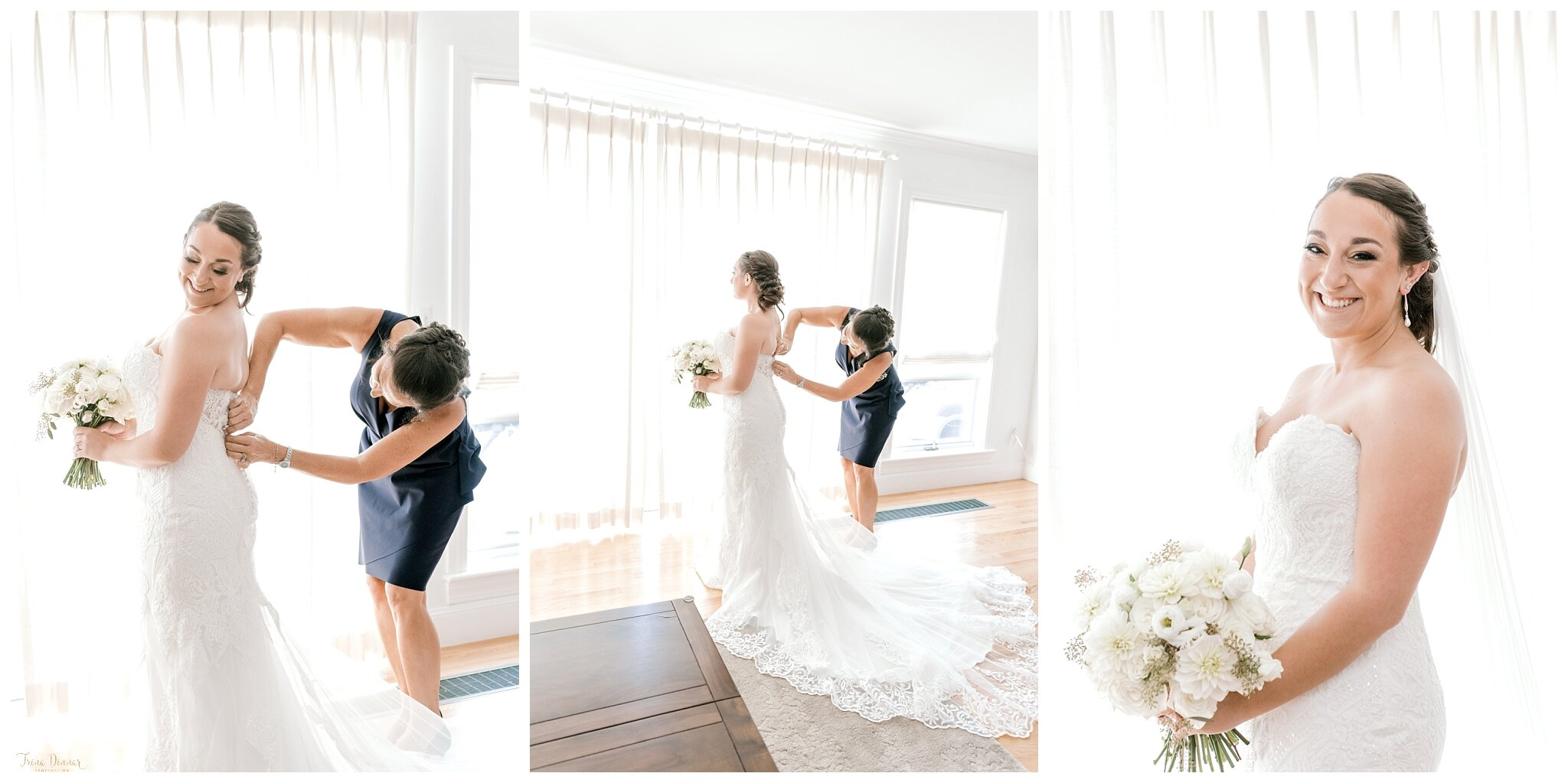 Danielle's Portland Maine Bridal Wedding Day Portrait Photography