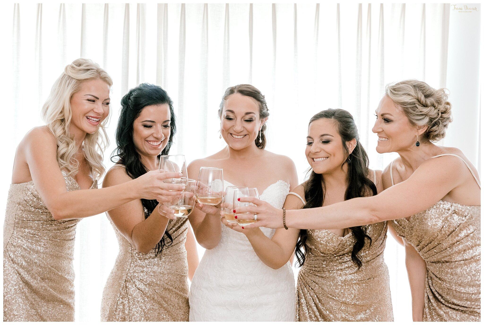 Bridal Party Wedding Day Toast
