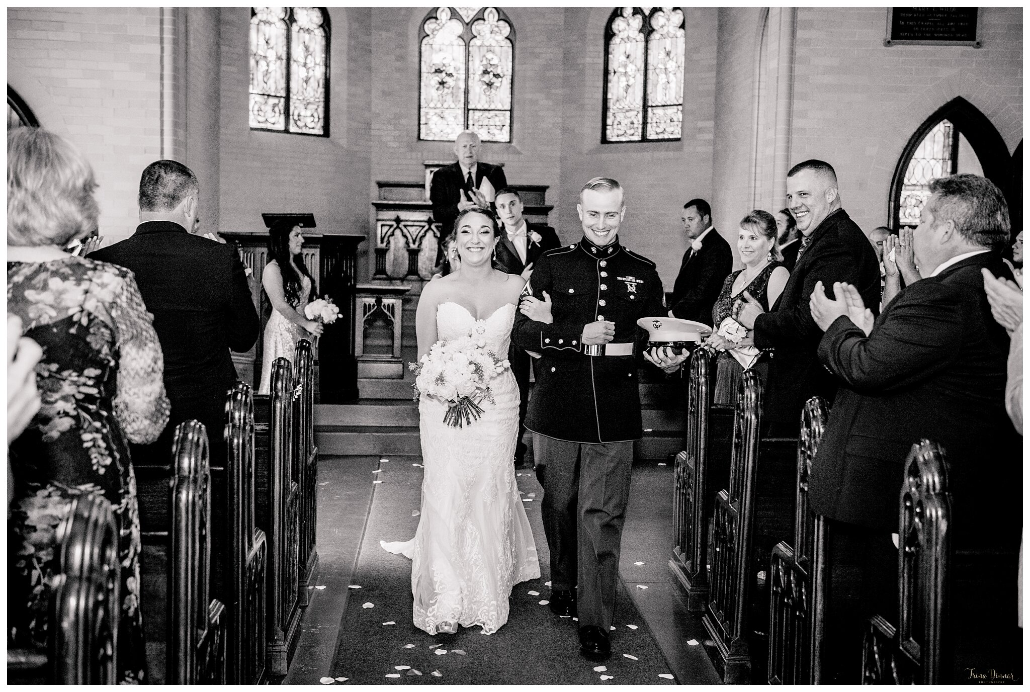 Wedding at Samuel Wilde Memorial Chapel in Portland, Maine