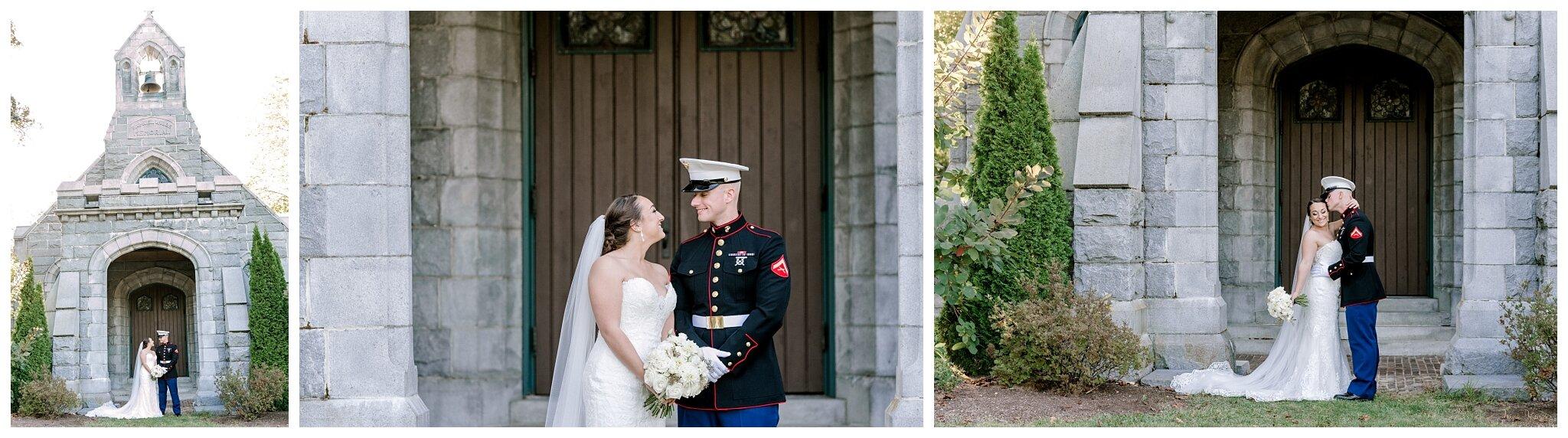 Samuel Wilde Memorial Chapel Portland Maine Wedding