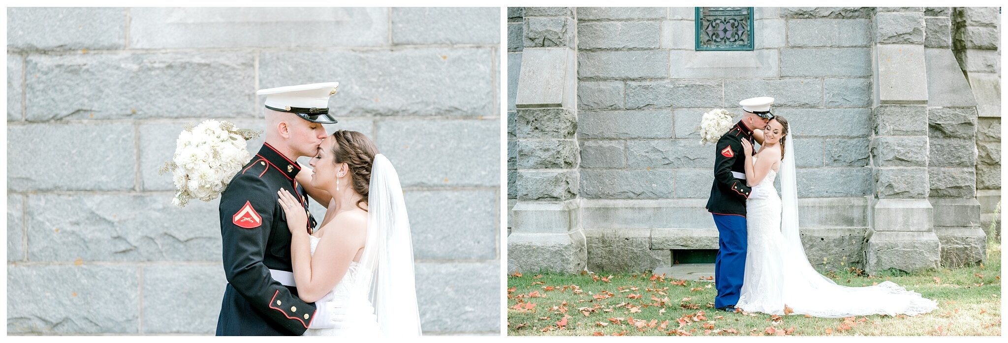 Danielle and Tyler's Wedding Day Portraits