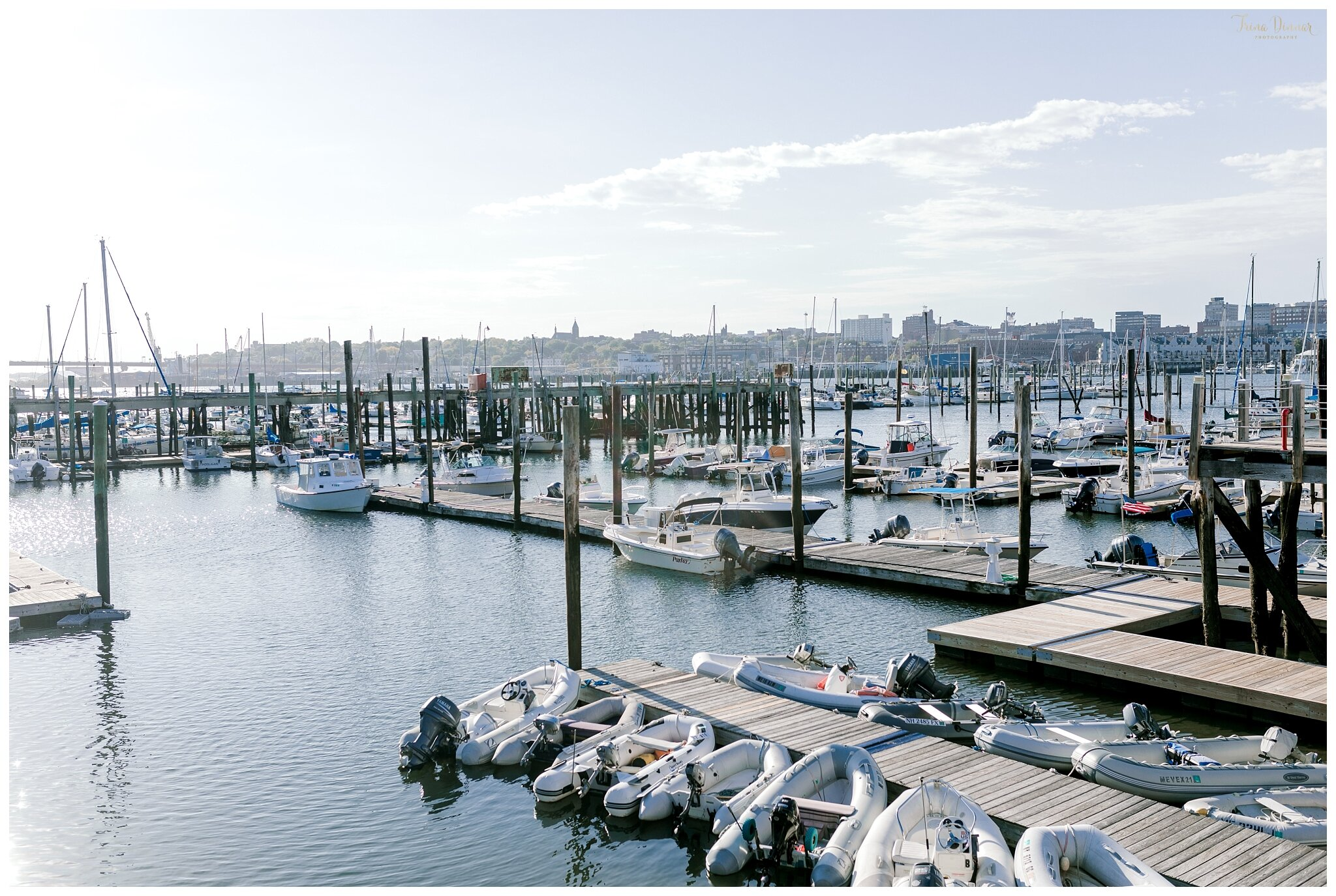 View of Portland Harbor from Saltwater Grille