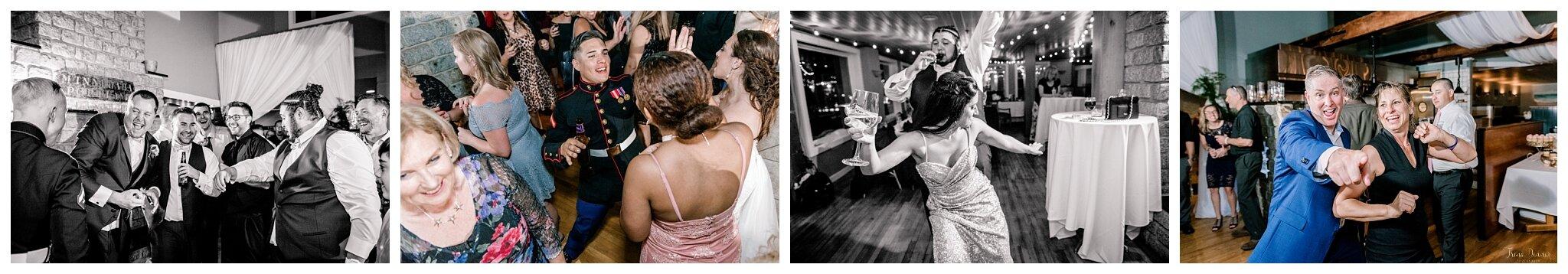 Saltwater Grille Wedding Reception Dancing