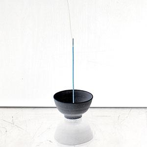 ume incense stick bowl holder iverted.jpg