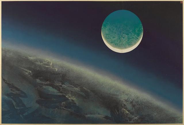 New Moon by Liu Kuo-Sung