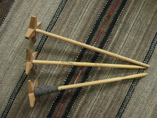Spindles made in Syria and sold in Qatar