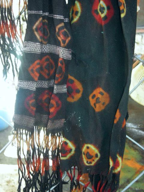 Thig-ma belts dyed in Skurbuchan