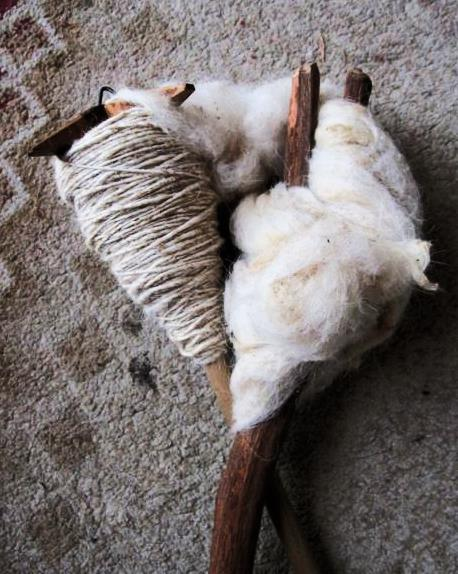 spindle and distaff