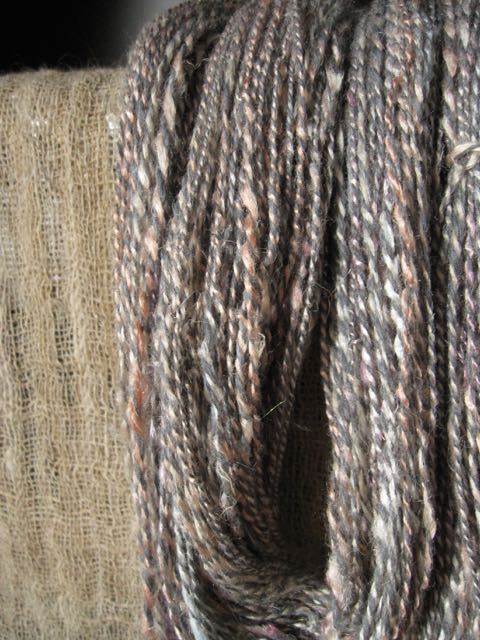 handspun silk cotton spindle