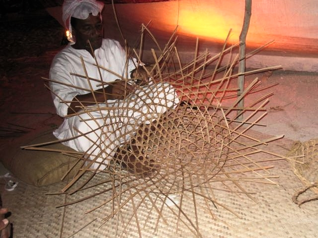 doha qatar basket fish trap
