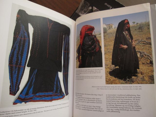 Documentation of the large dress in a Danish book - sorry I did not save the title of the book.