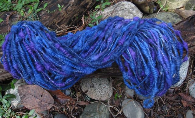 handspun coils yarn