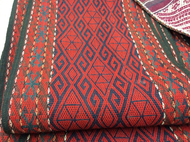Yurt band, detail. Collection of Marilyn Romatka.
