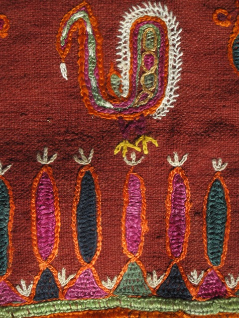 Fragment of a skirt fabric, Gujarat, India