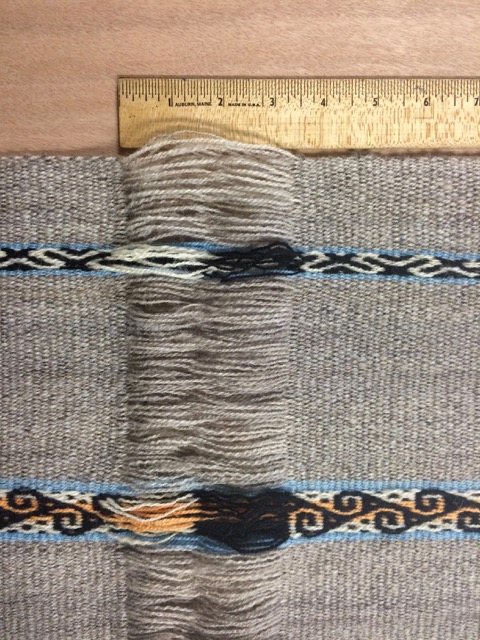 handspun backstrap weaving
