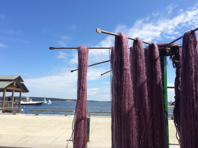 yarn dyeing port townsend