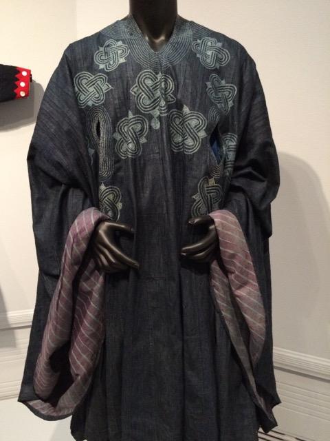 nigerian cloak indigo