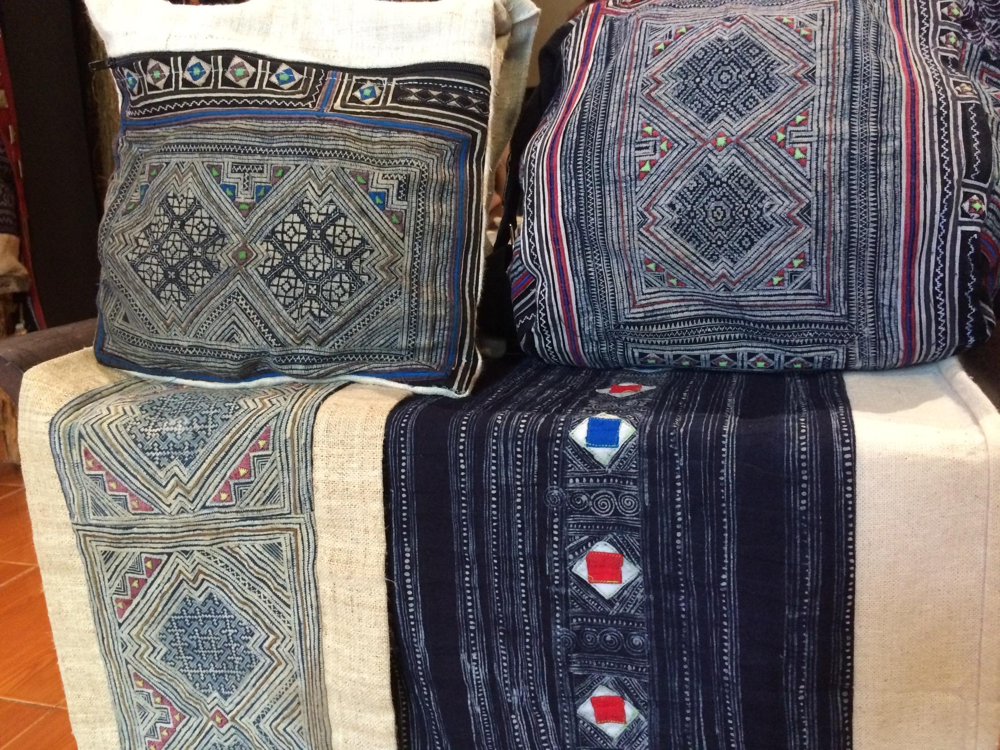 Hmong batik textiles laos