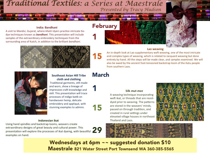 maestrale textile series flyer