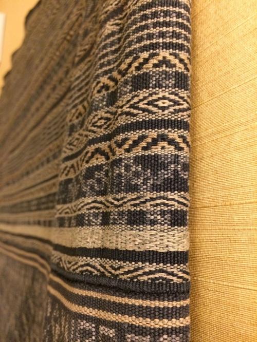 Another detail of the sarong, Hainan, China